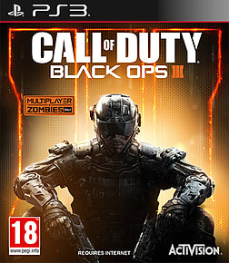 Call of Duty: Black Ops III PlayStation 3 Cover Art