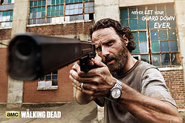 The Walking Dead Never Let Your Guard Down Ever Poster 91.5x61cm Posters