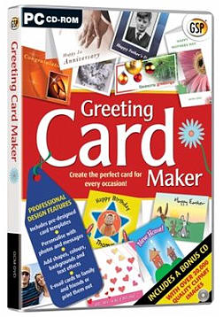Greeting Card Maker PC