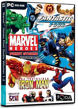Marvel Heroes Print Studio Volumes 1-3 PC