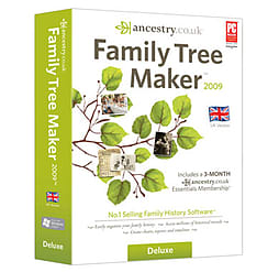 Family Tree Maker 2009 Deluxe Edition PC