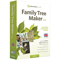Family Tree Maker Deluxe Edition 2010 PC