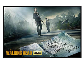 The Walking Dead Gloss Black Framed Gonna Need Rick Grimes Maxi Poster 91.5x61cm Posters