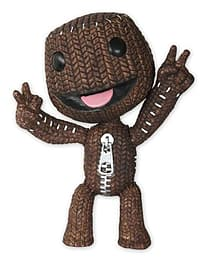 Little Big Planet - 6 Inch Articulated Figure - Peace Sign Sackboy Figurines and Sets
