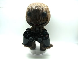 Little Big Planet - 12 Inch Sackboy Holder with Articulated Head Figurines and Sets
