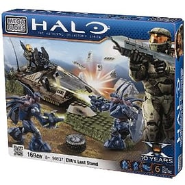Mega Bloks Halo Buildable EVAs Last Stand Blocks and Bricks