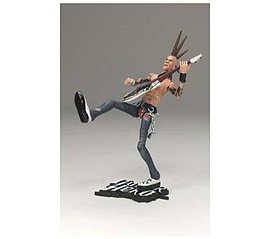 Guitar Hero 2009 10 Inch Wave 1 Johnny Napalm Figurines and Sets