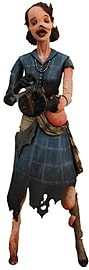Bioshock 2 (Series 3) Ladysmith Splicer Figure Figurines and Sets