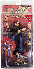 Streetfighter 4 Survival Mode Series 2 Chun Li Figurines and Sets
