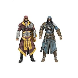 Assassins Creed Revelations 7 inch Action Figure Ezio Auditore 2 Pack Figurines and Sets
