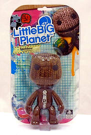Little Big Planet 6 Inch Angry Sackboy Figure Figurines and Sets