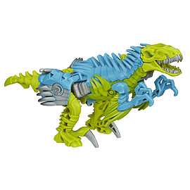 Transformers Age Of Extinction Dinobot Slash One-Step Changer Figurines and Sets