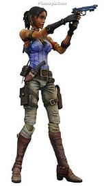 Resident Evil 5 Play Arts Kai - Sheva Figurine Figurines and Sets