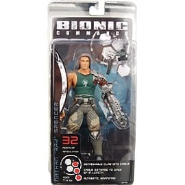 Bionic Commando 7 Inch Figure Figurines and Sets