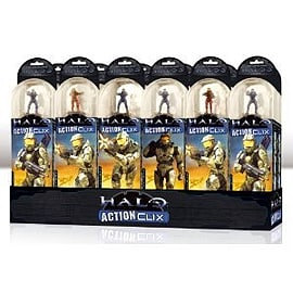 Halo Action Clix 12 Pack of 4 Series 1 Figures Figurines and Sets