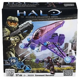 Mega Bloks Halo Covenant Banshee Blocks and Bricks
