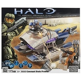 Mega Bloks Halo Covenant Brute Prowler Blocks and Bricks