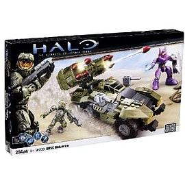 Mega Bloks Halo UNSC Wolverine (Green) Blocks and Bricks