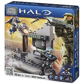 Mega Bloks Halo ODST Buildable Ambush Blocks and Bricks