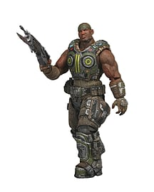 Gears of War 3 Series 2 Augustus Cole Action Figure Figurines and Sets