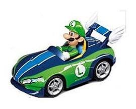 Nintendo Carrera Pull and Speed Mario Kart Wii - LUIGI Figurines and Sets