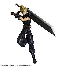 Final Fantasy Dissidia Action Figure Cloud Figurines and Sets