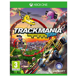 Trackmania TM Turbo Xbox One Cover Art