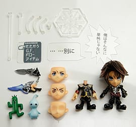 Final Fantasy trading arts mini Kai Squall (from final Fantasy VIII) Figurines and Sets