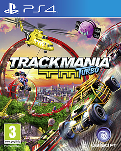 Trackmania TM Turbo PlayStation 4 Cover Art