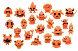 Moshi Monsters Halloween Collectable Figures - Series 1 Figurines and Sets