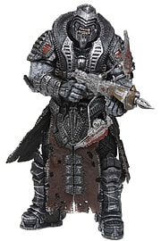 Exclusive Gears of War 3 - Elite Theron Onyx 7 Action Figure Figurines and Sets