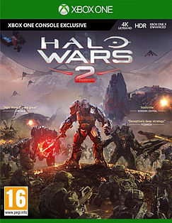 Halo Wars 2 Xbox One Cover Art