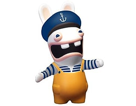 Rabbid Sailor Squeeze Anti-stress Toy Figure Figurines and Sets