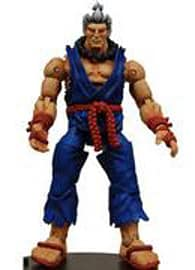 Streetfighter 4 Survival Mode Series 2 Akuma Blue Figurines and Sets