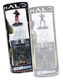Halo Reach Actionclix Sparten Red Battle Pack Figurines and Sets