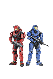 Halo Reach: Series 3 Spartan Loadouts - Grenadier and Expert Marksman Action Figures Figurines and Sets