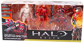 Halo: Reach Series 4 Spartan 3 Packs - Spartan Stalker Figurines and Sets