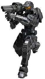 Halo Combat Evolved Play Arts Kai Spartan Mark V Black Action Figure Figurines and Sets