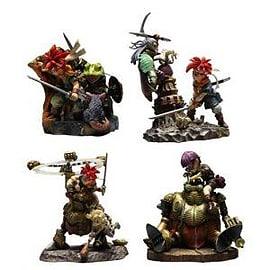 Chrono Trigger Formation Arts Figure Set (4 Figures) 8 cm Figurines and Sets