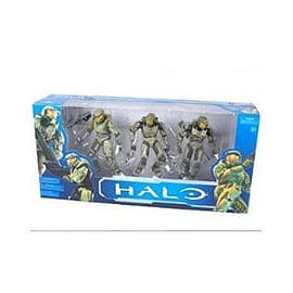 Halo 10th Anniversary Master Chief Evolution 3 Pack Action Figure Set Figurines and Sets