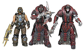 Gears of War Best of Action Figure Set Figurines and Sets
