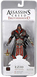 Assassins Creed Brotherhood Ezio Ebony Assassin 18cm Figure Figurines and Sets