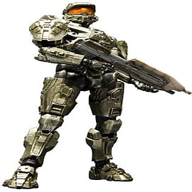 Halo 4 Play Arts Kai Master Chief Figurines and Sets