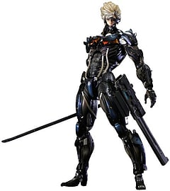 Metal Gear Rising Revengeance Play Arts Kai Raiden Figurines and Sets