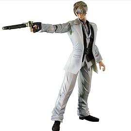 Final Fantasy VII Advent Children Play Arts Kai Rufus Shinra Figurines and Sets