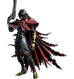 Final Fantasy VII Advent Children Play Arts Kai Vincent Valentine Figurines and Sets