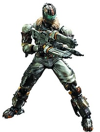 Dead Space 3 Play Arts Kai Issac Clarke Figure Figurines and Sets