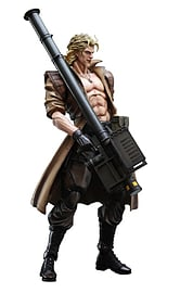 Metal Gear Sold Play Arts Kai Liquid Snake Figurines and Sets