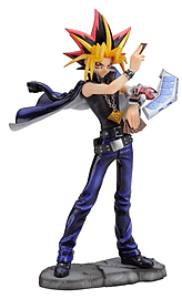 Yu-Gi-Oh! Yami Yugi Duel with Destiny Ani Statue Figurines and Sets