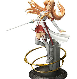Sword Art Online Asuna Aincrad Ani Statue Figurines and Sets
